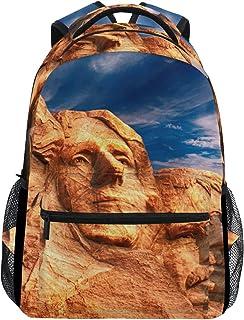 DEZIRO Monte Rushmore mochila escolar tejido mochilas