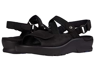 Wolky Lisse (Black Antique Nubuck) Women
