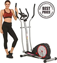 ncient Elliptical Machine Eliptical Trainer Exercise Machine for Home Use Magnetic Smooth Quiet Driven with LCD Monitor and Pulse Rate Grips
