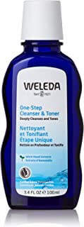 Weleda One-Step Facial Cleanser and Toner, 3.4 Fl Oz (Pack Of 12)