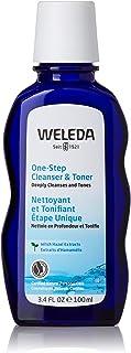 Weleda One-Step Face Cleanser & Toner, 3.4 Fl Oz (Pack Of 12)