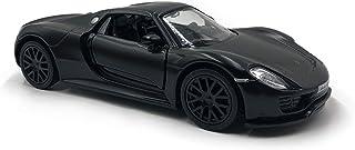 emosq Official Licensed 1:36 Super CAR Metal Model All Black Collection (Porsche 918 Spyder)