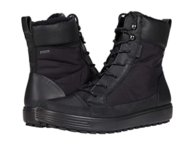 ECCO Soft 7 Tred Winter Boot (Black/Black/Black) Women