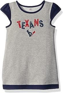 Outerstuff NFL Girls 4-6X First & Ten Cap Sleeve Dress