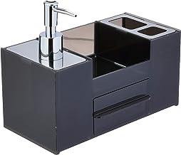 Organiz; de Pia Para Banheiro Quadrata Fum Brinox Aço Inox