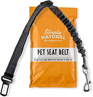Pet Seat Belt Restraint By Simply Natural – Bungee Buffer