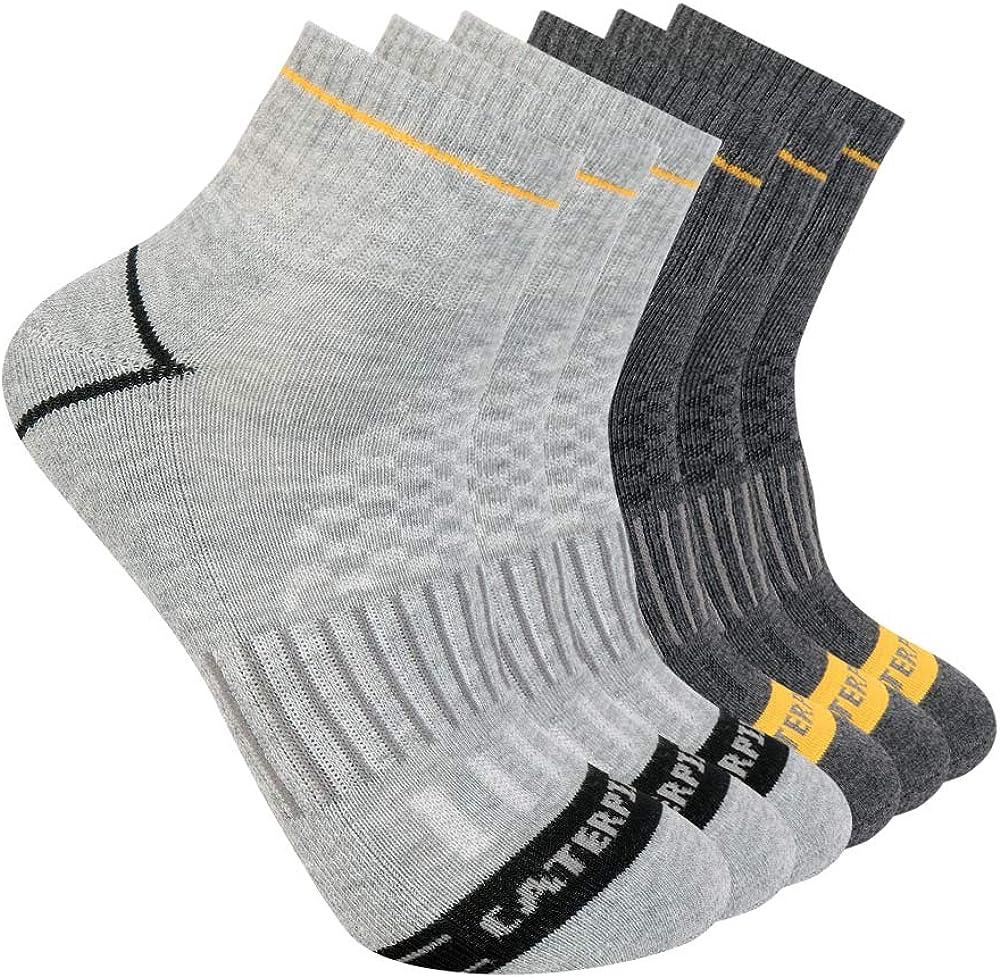 Caterpillar El Paso Mall Men's Sales Half Cushioned Socks Quarter