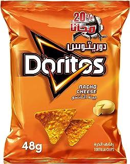 Doritos Nacho Cheese Tortilla Chips, 48 gm
