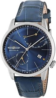 [ツェッペリン]ZEPPELIN 腕時計 Flat Line ネイビー文字盤 7366-3 メンズ 【並行輸入品】