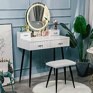 YOURLITE Vanity Set with Lighted Mirror, 3 Lighting Modes...