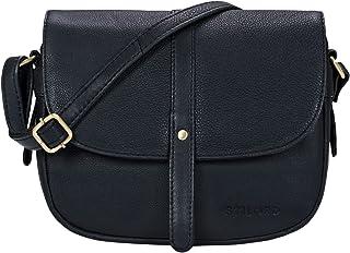 STILORD 'Kira' Umhängetasche Frauen Leder Vintage kleine Handtasche zum Ausgehen Klassische Abendtasche Partytasche Freize...