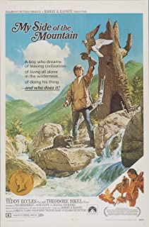 Berkin Arts Movie Poster Giclee Print On Canvas-Film Poster Reproduction Wall Decor(My Side of The Mountain 2) #XFB