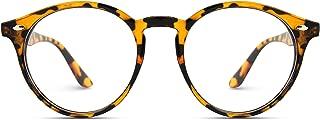Prescription Round Clear Lens Plastic Fashion Glasses