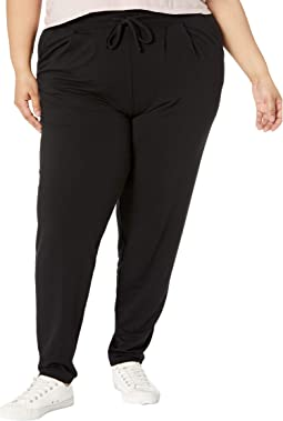 """Plus Size """"Wearever U R"""" The Curbside Relaxed Fit Joggers"""