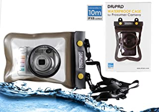Navitech Black Waterproof Underwater Housing Case/Cover Pouch Dry Bag Compatible with The Panasonic Lumix DMC-GF7 / Lumix DMC-LF1 / Lumix DMC-LX100 / Lumix DMC-LX5 / Lumix DMC-LX7