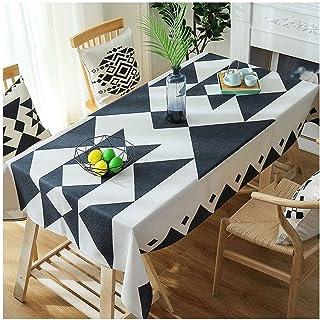 Gamvdout Élégant et Simple Table de Table rectangulaire Bohemian Bureau Toile Table Basse Rétro Clan Wind Nymnique de Piqu...