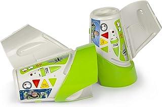 لعبة ذراع جهاز اتصال داخلي بتصميم ديزني توي ستوري من اي ام سي تويز 140028، اخضر لسن 3 سنوات