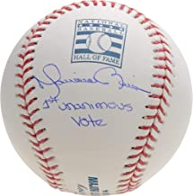 Mariano Rivera New York Yankees Autographed Hall of Fame Logo Baseball with