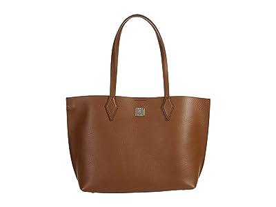 MCM Yris Shopper Medium (Toffee) Bags
