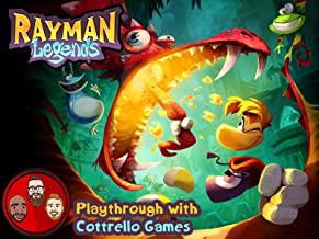 Rayman Legends Multiplayer Playthrough with Cottrello Games