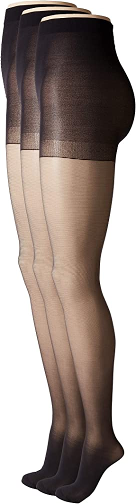 8ecf1669883 Age Defiance Sheer Pantyhose with Control Top (3-Pack)