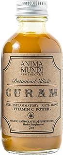 Anima Mundi Curam Organic Beauty Elixir - Powerful Vitamin C Foods for Skin Detox & 'Anti Aging' Support with Turmeric + C...
