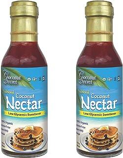 Coconut Secret Coconut Nectar (2 Pack) - 12 fl oz - Natural, Low-Glycemic Liquid Sweetener, Agave Syrup Alternative - Orga...