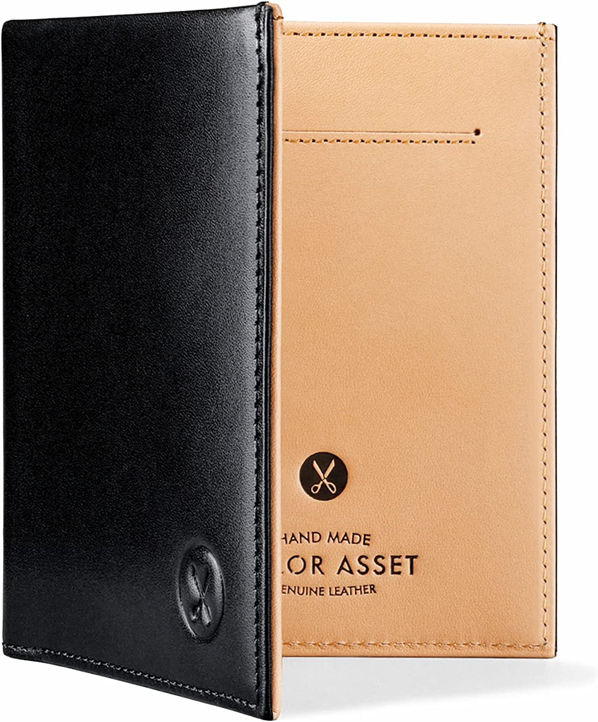 Tailor Asset SUIT high-end specialized bifold wallet for men full-grain genuine leather LIMITED EDITION
