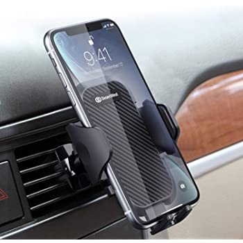 Black AICase Universal Smartphone Car Mount Holder Cradle with a Quick Release Button for iPhone 6 6S 5S 5,iPod Touch and Other Devices 3.5-6 Wide Black 4327085009 Car Air Vent Mount iPod Touch and Other Devices 3.5-6 Wide