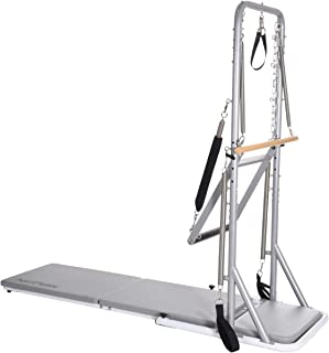 AeroPilates Precision Cadillac Studio Tower   Four Free Online Expert-Guided Workouts Included   Stream from Any Device, Gray
