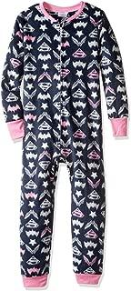 Big Dc Hero Girls Union Suit Mink Fleece