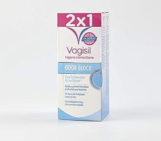 VAGISIL solución higiene íntima odor block bote 2 x 250 ml
