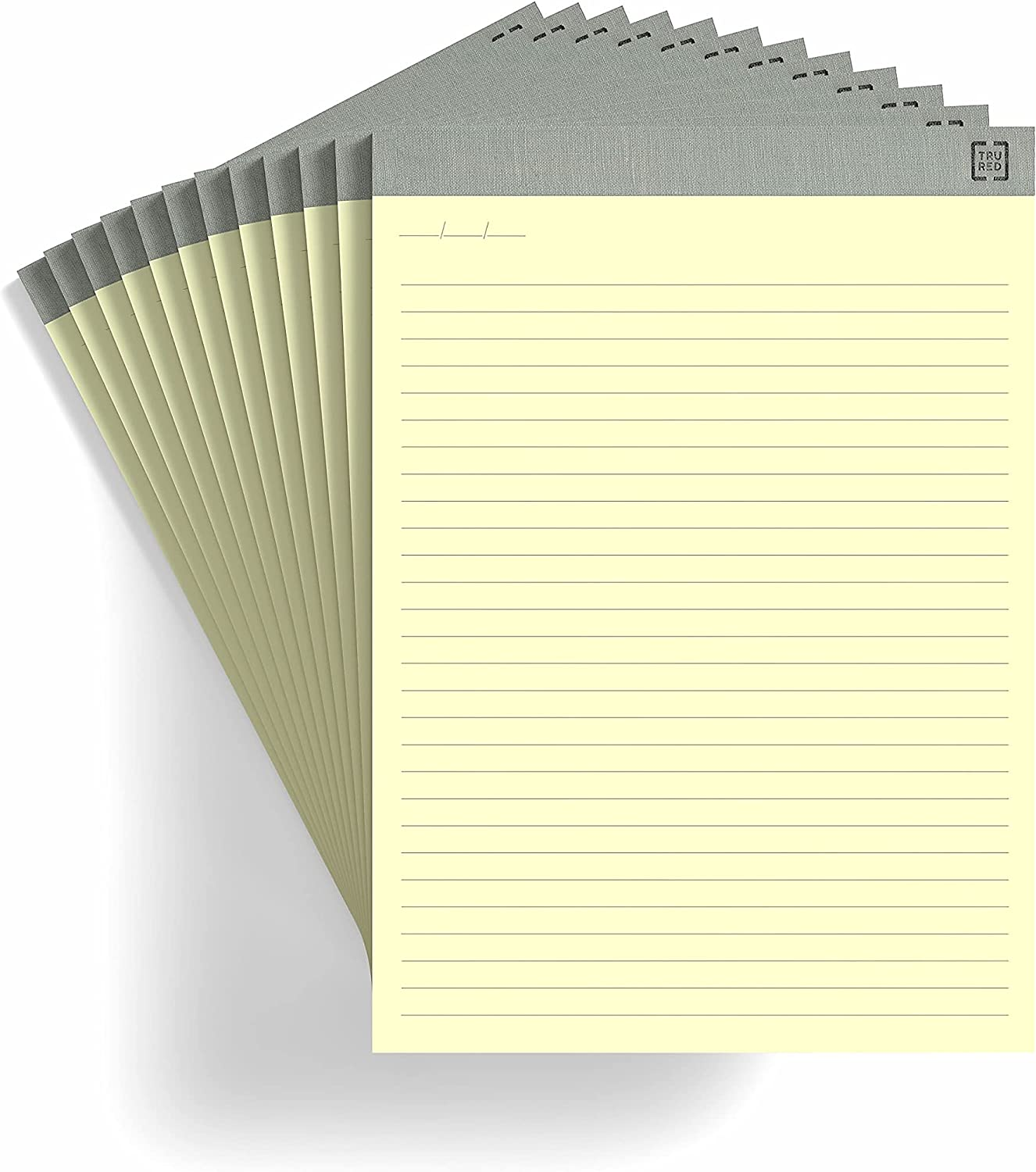 TRU RED TR57381 Notepads Challenge the Mail order lowest price of Japan 8.5-Inch x Wide Can Ruled 11.75-Inch