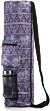 RoryTory Yoga Mat Bag w/Adjustable Strap, Water Bottle Carrier, Inner & Outer Pockets, Heavy Duty & Machine Washable - Fit...
