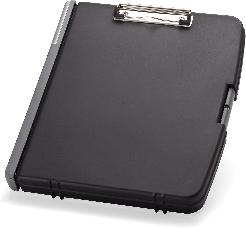 Charcoal New Version Ringbinder Clipboard Storage Box 83309