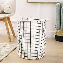 A ASENER ENJOY THE SIMPLE LIFE Dirty Clothes Storage Bag Sundries Storage Clothing Storage Baskets Folding Laundry Basket ...