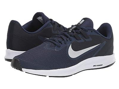 Nike Downshifter 9 (Midnight Navy/Pure Platinum) Men