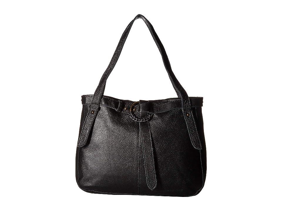 The Sak Terrace Belted Shopper by The Sak Collective (Black) Handbags