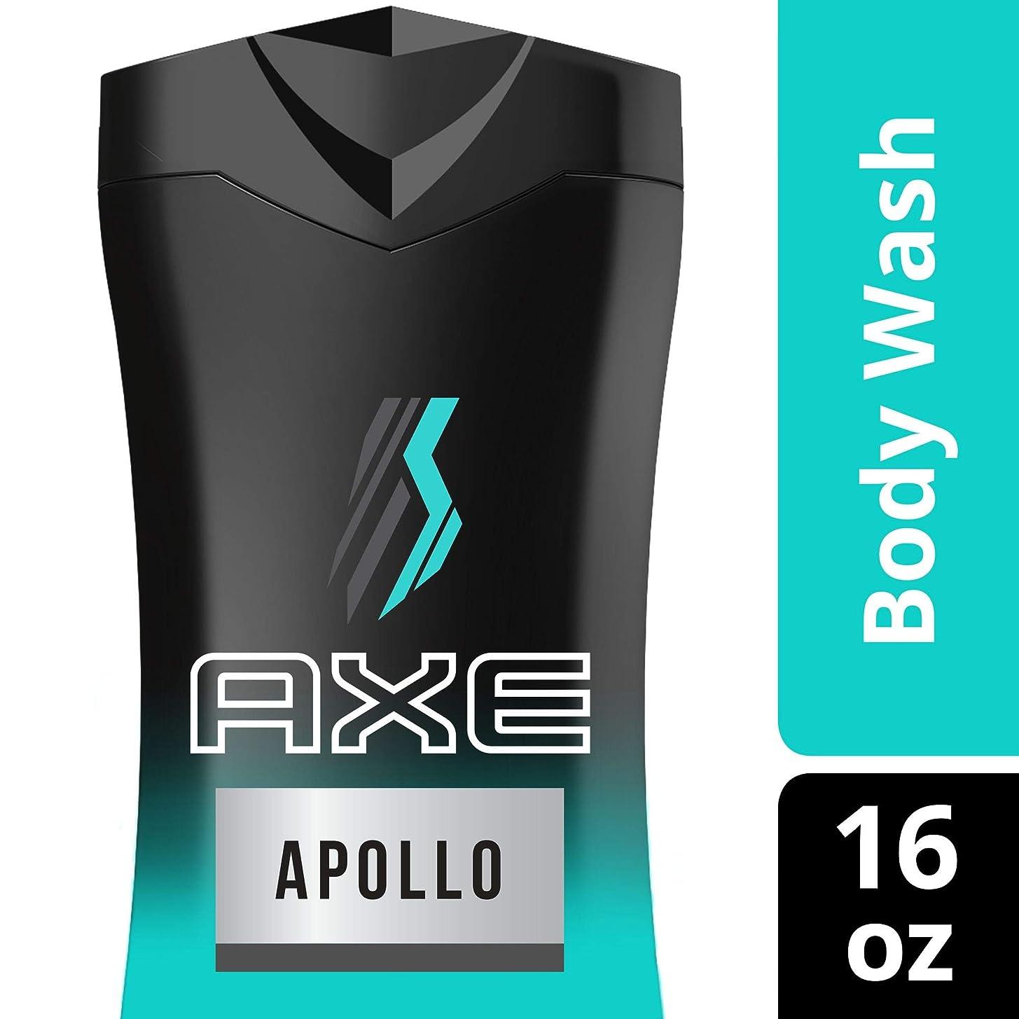 より平らな進む寄付AXE 男性用ボディウォッシュ、アポロ、16オズ
