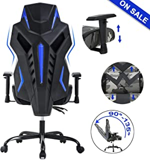 BestOffice PC Gaming Chair Ergonomic Office Chair Desk Chair High Back Racing Task Swivel Rolling Computer Chair with Lumbar Support Adjustable Arms Headrest Executive Chair for Adults Girls,Camo
