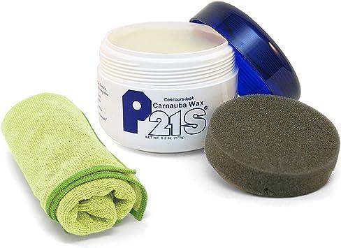 P21S Concours Carnauba Wax with Microfiber Cloth: image