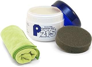 P21S Concours Carnauba Wax with Microfiber Cloth
