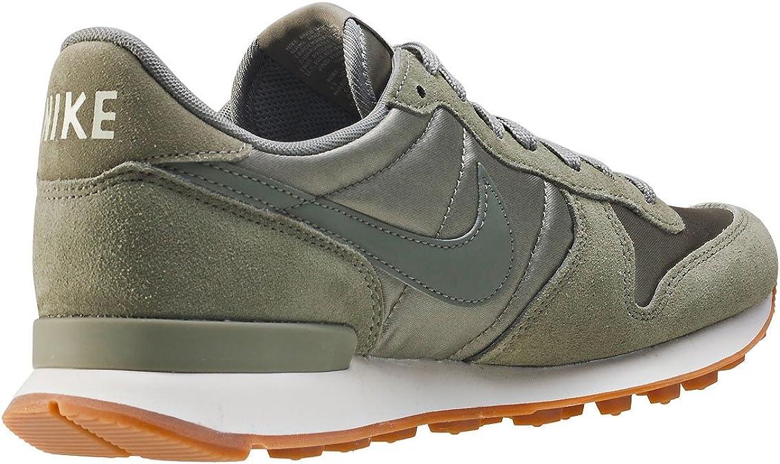 Nike Internationalist, Sandales Compensées femme - vert - kaki ...