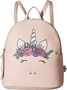 Flower Crown Unicorn Backpack