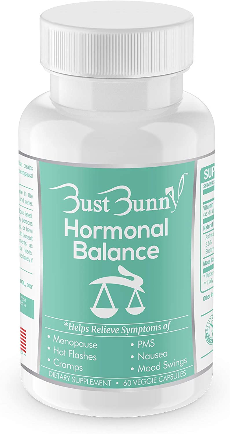 Hormone Balance for Women | Menopause and PMS Relief | Hot Flashes Menopause Relief | Vegan-Friendly