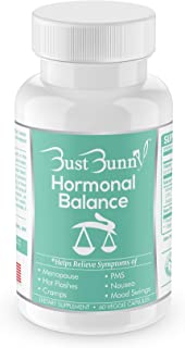 Hormone Balance for Women | Menopause and PMS Relief | Hot Flashes Menopause Relief | Vegan-Friendly | 30 Day Supply