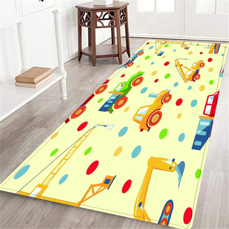 Max 70% OFF NINEHASA Decorative Long Floor Mat Manufacturer OFFicial shop Seamless Carpet Detailed Back