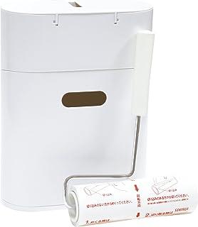 小久保 『収納BOX付粘着クリーナー』 CORO MODE ホワイト ST-026