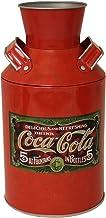 """The Tin Box Company Coke Replica Milk Can, Red, 4-1/4 x 8"""""""