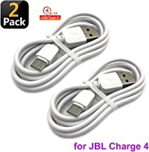 DGSUS Replacement 1m Long USB Data/Fast Charger High Speed Quick Charge Cable Cord for JBL Charge 4 Portable Waterproof Wireless Bluetooth Speaker